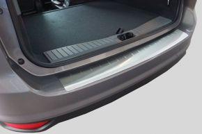 Edelstahl-Ladekantenschutz für Toyota Avensis Combi 2009-