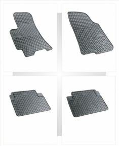 Gummi Fußmatten für DAEWOO LANOS 4-teilige 1997-2002