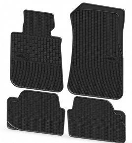 Gummi Fußmatten für BMW 1 4-teilige 2008-