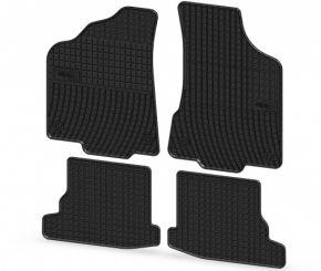 Gummi Fußmatten für VOLKSWAGEN VW POLO 4-teilige 1999-2001