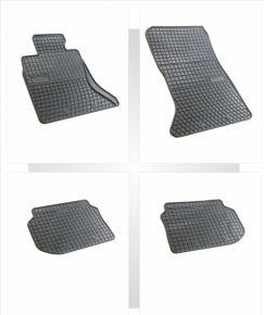 Gummi Fußmatten für BMW 5 4-teilige 2009-