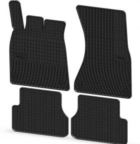 Gummi Fußmatten für AUDI A6 4-teilige 2011-