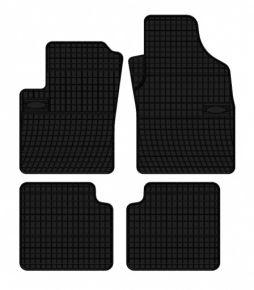 Gummi Fußmatten für FIAT PANDA 4-teilige 2012-