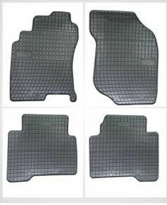 Gummi Fußmatten für NISSAN X-TRAIL 4-teilige 2001-2008