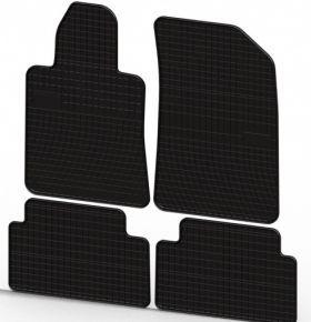 Gummi Fußmatten für PEUGEOT 508 4-teilige 2011-
