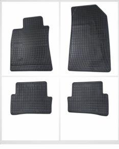 Gummi Fußmatten für VOLKSWAGEN VW TOUAREG II 4-teilige 2010-