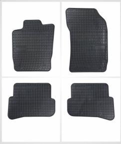 Gummi Fußmatten für AUDI A1 4-teilige 2010-