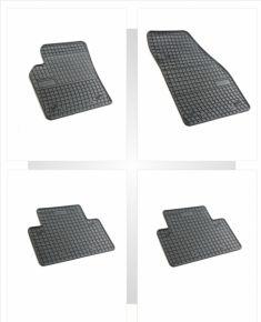 Gummi Fußmatten für VOLVO S40 4-teilige 2004-2011