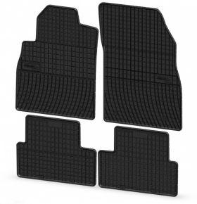 Gummi Citroen C3 2002-2009 4 Stück Schwarz Fußmatten
