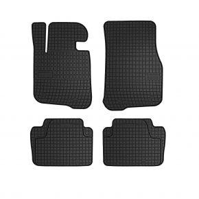 Gummi Fußmatten für BMW 4 (F32,F33,F36) 4-teilige 2013-