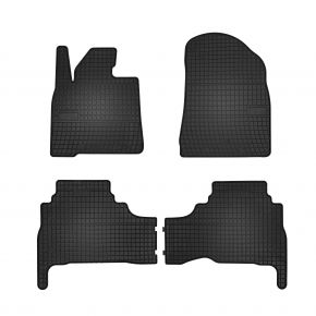 Gummi Fußmatten für TOYOTA LAND CRUISER 200 LIFT 4-teilige 2015-up