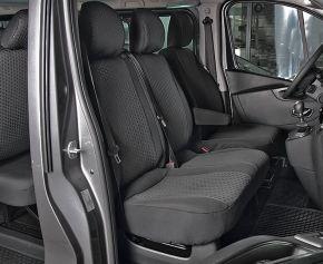 Autositzbezüge Tailor Made DV2 für OPEL VIVARO B (2014-2019)