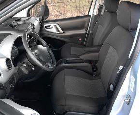 Autositzbezüge Tailor Made 1+1 für PEUGEOT PARTNER II Tepee (2008-2018)