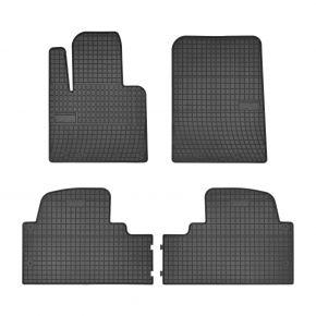 Gummi Fußmatten für KIA SORENTO III 4-teilige 2015-up