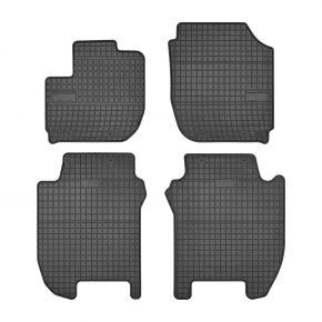 Gummi Fußmatten für HONDA JAZZ IV 4-teilige 2015-up