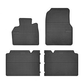 Gummi Fußmatten für RENAULT ESPACE IV 4-teilige 2002-2015