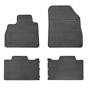 Gummi Fußmatten für RENAULT ESPACE V 4-teilige 2015-up