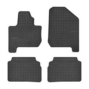 Gummi Fußmatten für KIA SOUL II EV ELECTRIC 4-teilige 2014-up