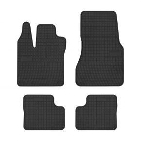 Gummi Fußmatten für SMART FORFOUR II 4-teilige 2014-up