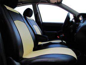 Autopoťahy na mieru Koža FIAT 500