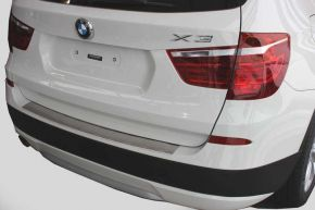 Edelstahl-Ladekantenschutz für BMW X3 F25