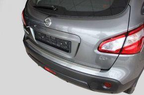 Edelstahl-Ladekantenschutz für Nissan Qashqai + 2