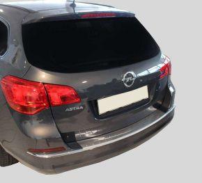 Edelstahl-Ladekantenschutz für Opel Astra IV J HB