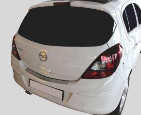 Edelstahl-Ladekantenschutz für Opel Corsa D