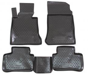 Gummi Fußmatten MERCEDES GLK-Class X204 2008-up  4 Stück