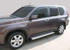 Seitliche Trittbretter für Nissan X-Trail T31 2007-2014