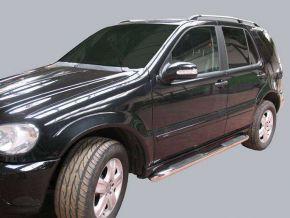 Seitlicher Edelstahlrahmen für Mercedes ML-Class W163