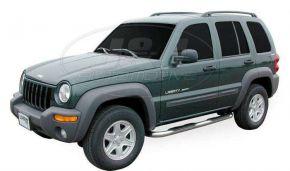 Seitlicher Edelstahlrahmen für Jeep Cherokee
