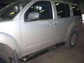 Seitlicher Edelstahlrahmen für Nissan Pathfinder