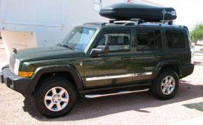 Seitlicher Edelstahlrahmen für Jeep Commander