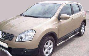 Seitlicher Edelstahlrahmen für Nissan Qashqai