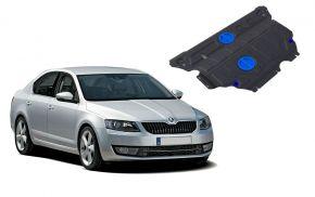 Stahlmotorabdeckung und Getriebeschutz für Skoda Octavia A7 passt für alle Motoren 2013-