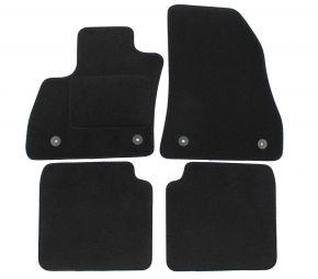 Textil Fußmatten für Fiat 500L, 2012-