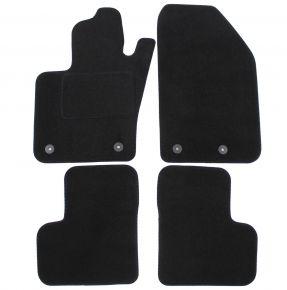 Textil Fußmatten für Fiat 500X, 2014-