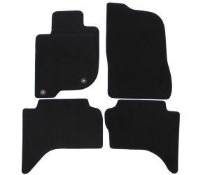 Textil Fußmatten für Fiat Fullback, 2016-