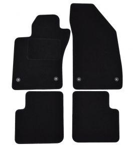Textil Fußmatten für Fiat Tipo (sedan), 2015-