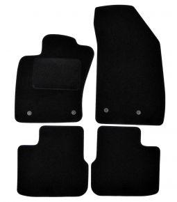 Textil Fußmatten für Fiat Tipo (hatchback,wagon), 2015-