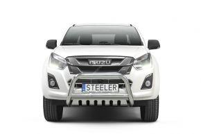 Frontbügel Frontschutzbügel Bullbar Steeler für ISUZU D-MAX 2012-2017- Modell S