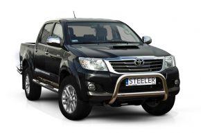 Frontbügel Frontschutzbügel Bullbar Steeler für Toyota Hilux 2005-2011-2015 Modell A