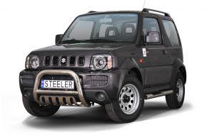 Frontbügel Frontschutzbügel Bullbar Steeler für Suzuki Jimny 2005-2012 Modell G