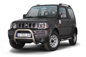 Frontbügel Frontschutzbügel Bullbar Steeler für Suzuki Jimny 2005-2012 Modell A
