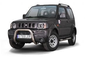 Frontbügel Frontschutzbügel Bullbar Steeler für Suzuki Jimny 2005-2012 Modell U