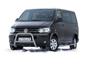 Frontbügel Frontschutzbügel Bullbar Steeler für Volkswagen VW T5 2003-2010-2015 Modell A