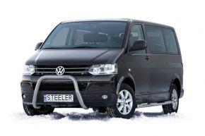 Frontbügel Frontschutzbügel Bullbar Steeler für Volkswagen VW T5 2003-2010-2015 Modell U