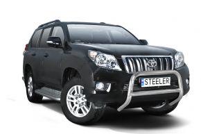 Frontbügel Frontschutzbügel Bullbar Steeler für Toyota Land Cruiser 150 2010-2013 Modell A
