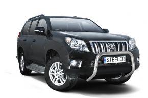 Frontbügel Frontschutzbügel Bullbar Steeler für Toyota Land Cruiser 150 2010-2013 Modell U